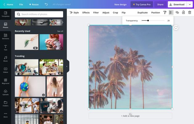 tools for content marketers - canva - tool for ads and business growth