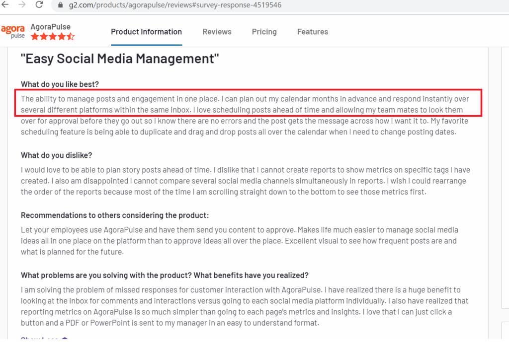 Agorapulse Review - Turnkey Social Media Management Tool 7