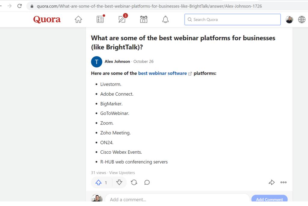 easy to use webinar platform