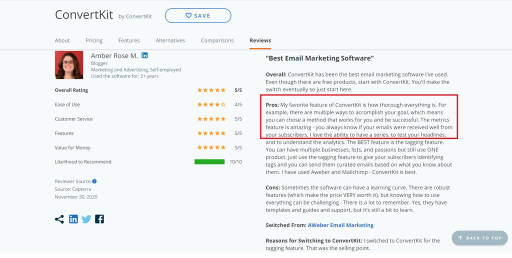 ConvertKit vs Mailchimp - Best tool for Bloggers 4