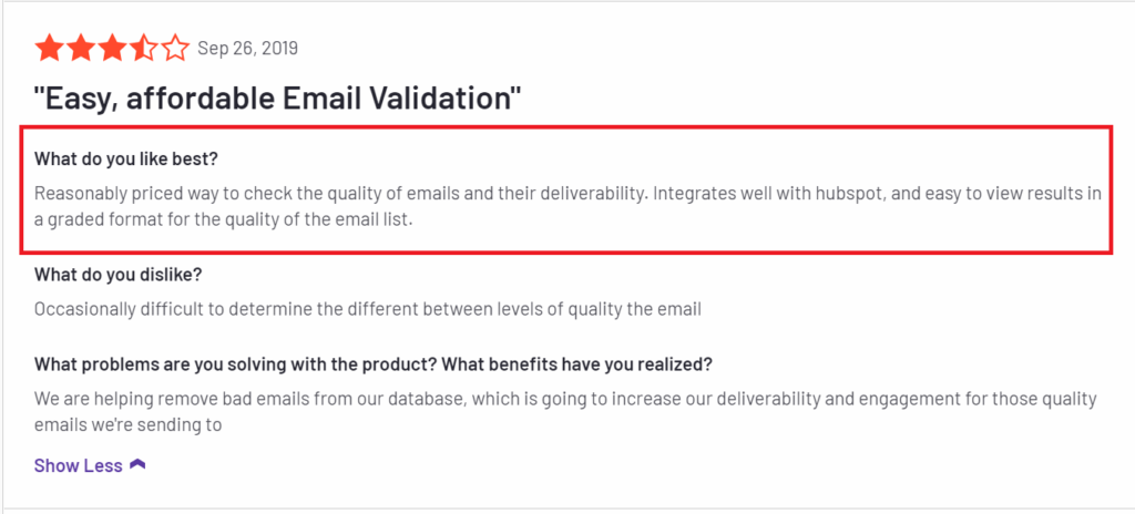 Top 6 Email List Cleaning and Validation Service to Verify Emails 5