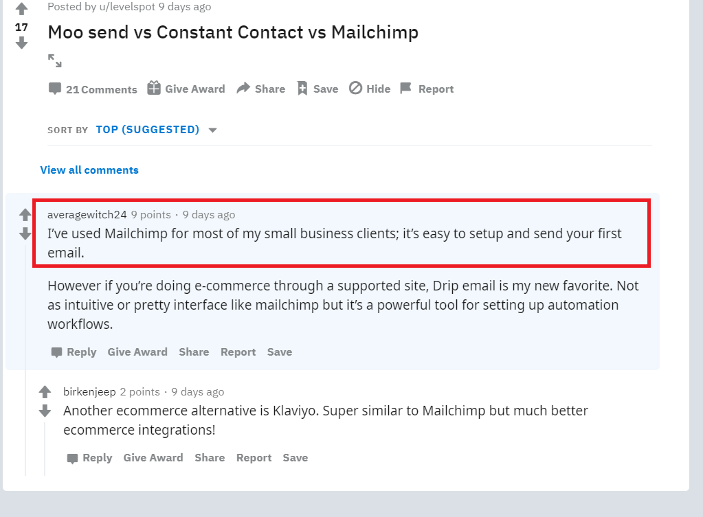 MailChimp vs Aweber - Best tool for the Professional Marketer 2