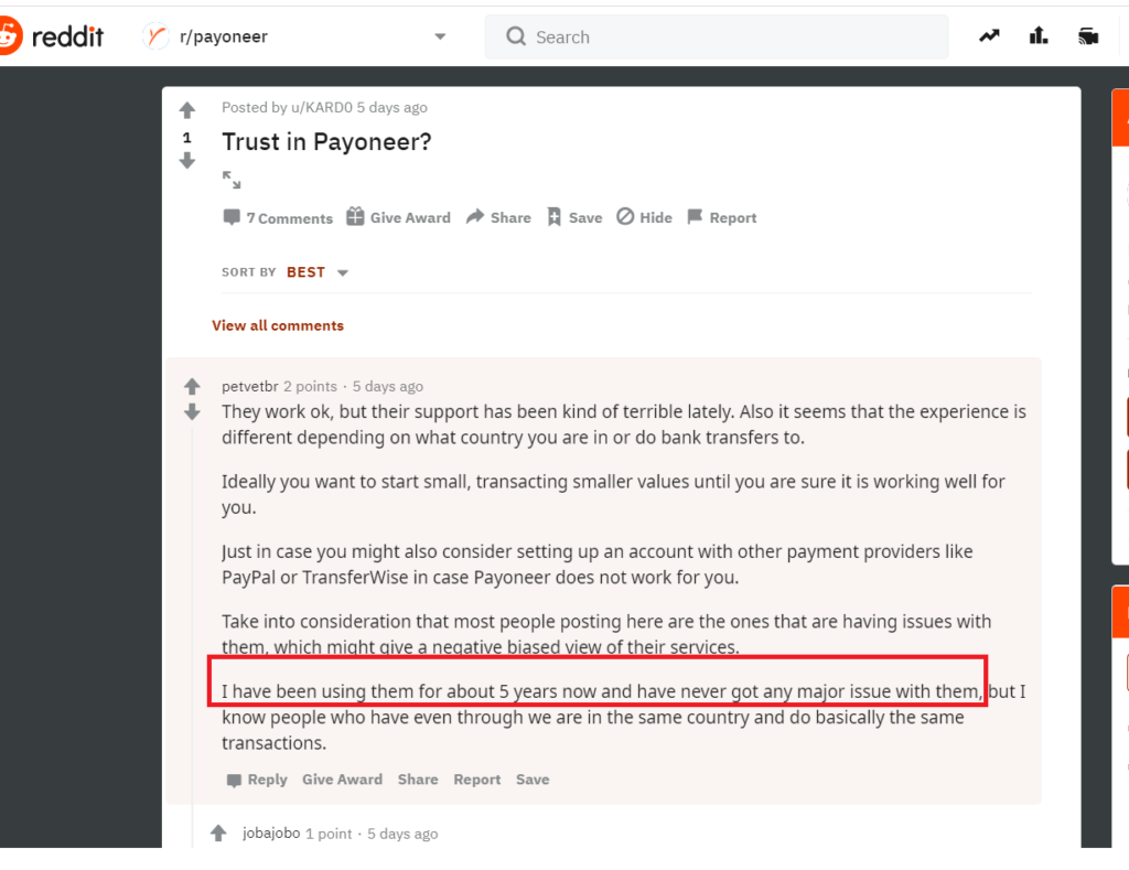 Latest Payoneer Review and Alternatives Comparison 2