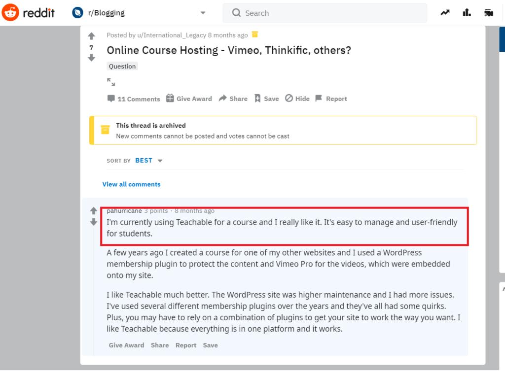 Thinkific vs Teachable - Quick Online Course Builder Comparison 6