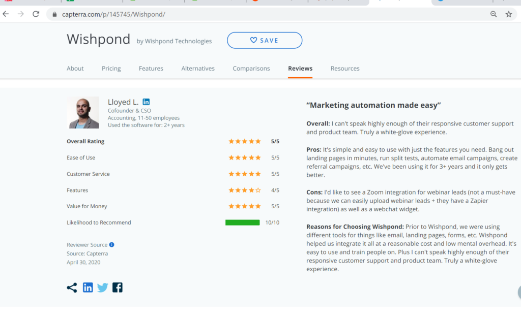 Wishpond Review - Simple Platform for Business Growth 2