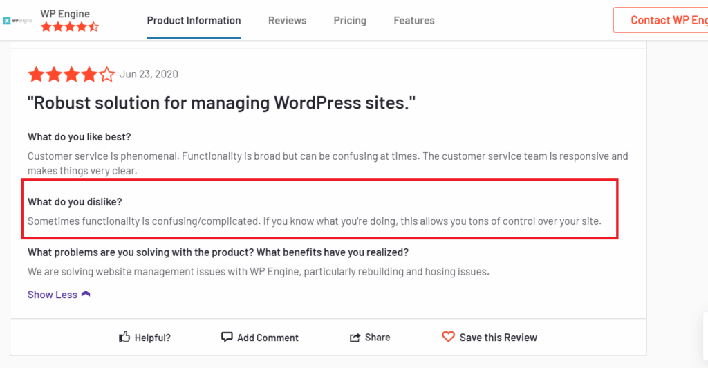 WPEngine Review for Fastest WordPress Hosting 5