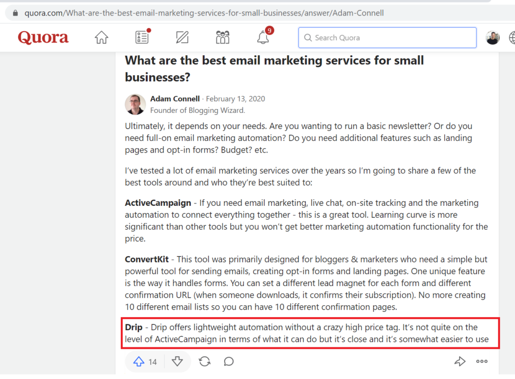 email marketing services quora