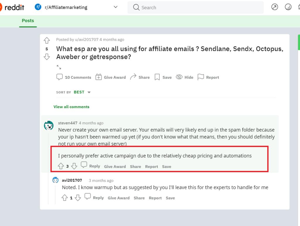 activecapmaign reddit review