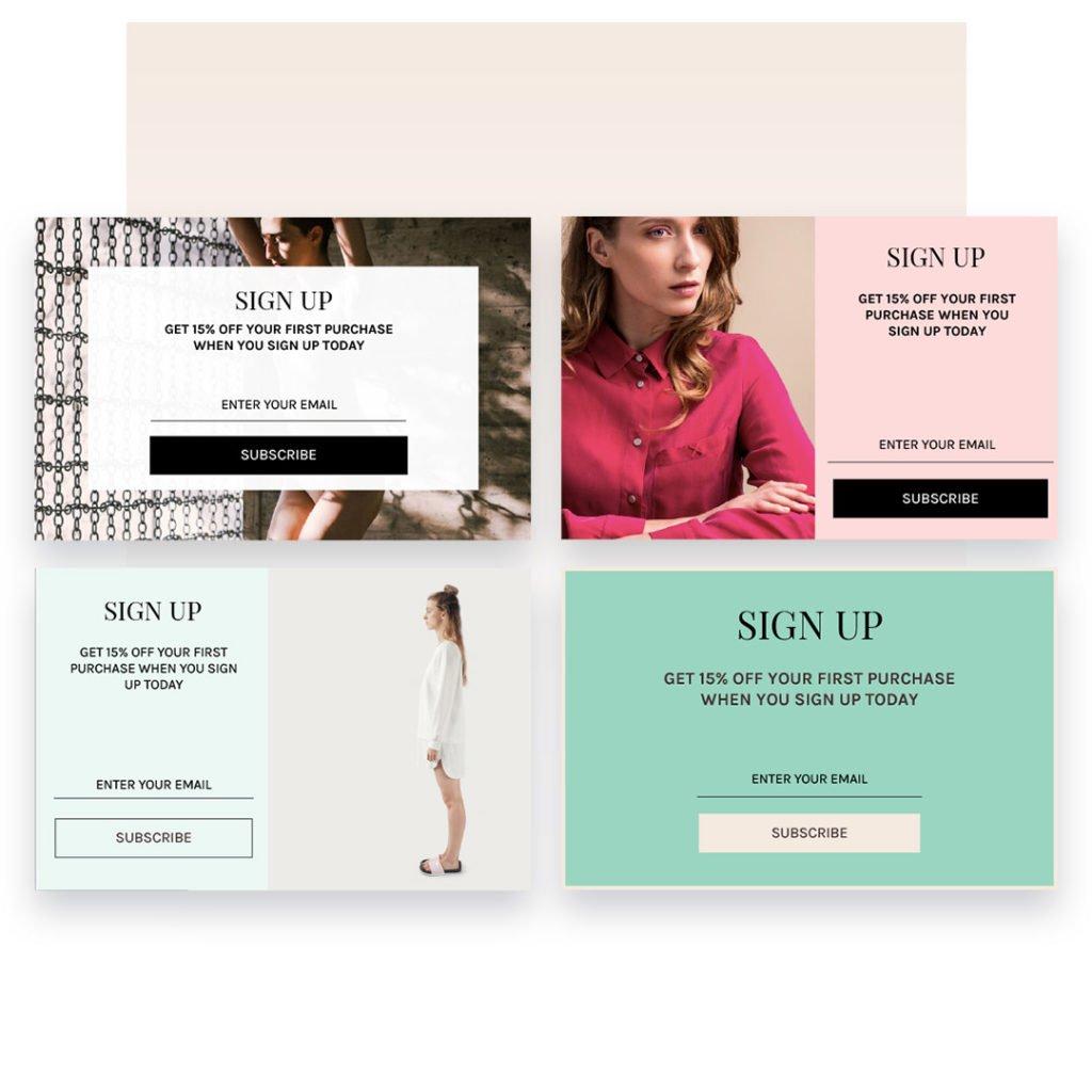 Omnisend pop-upds for website