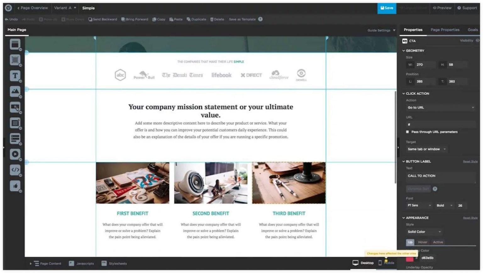 clickfunnels alternatives - template blueprints