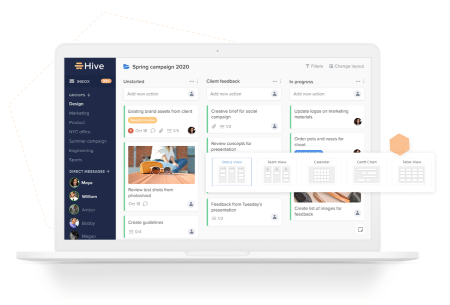 boost productivity in remote teams - hive