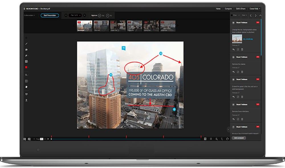 online proofing software - review studio