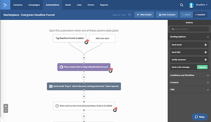 Activecampaign ins another Mailchimp alternative - great tool for all business owners - tools like hubspot  offers real time reporting - autoresponders journey - seems to be a great tool