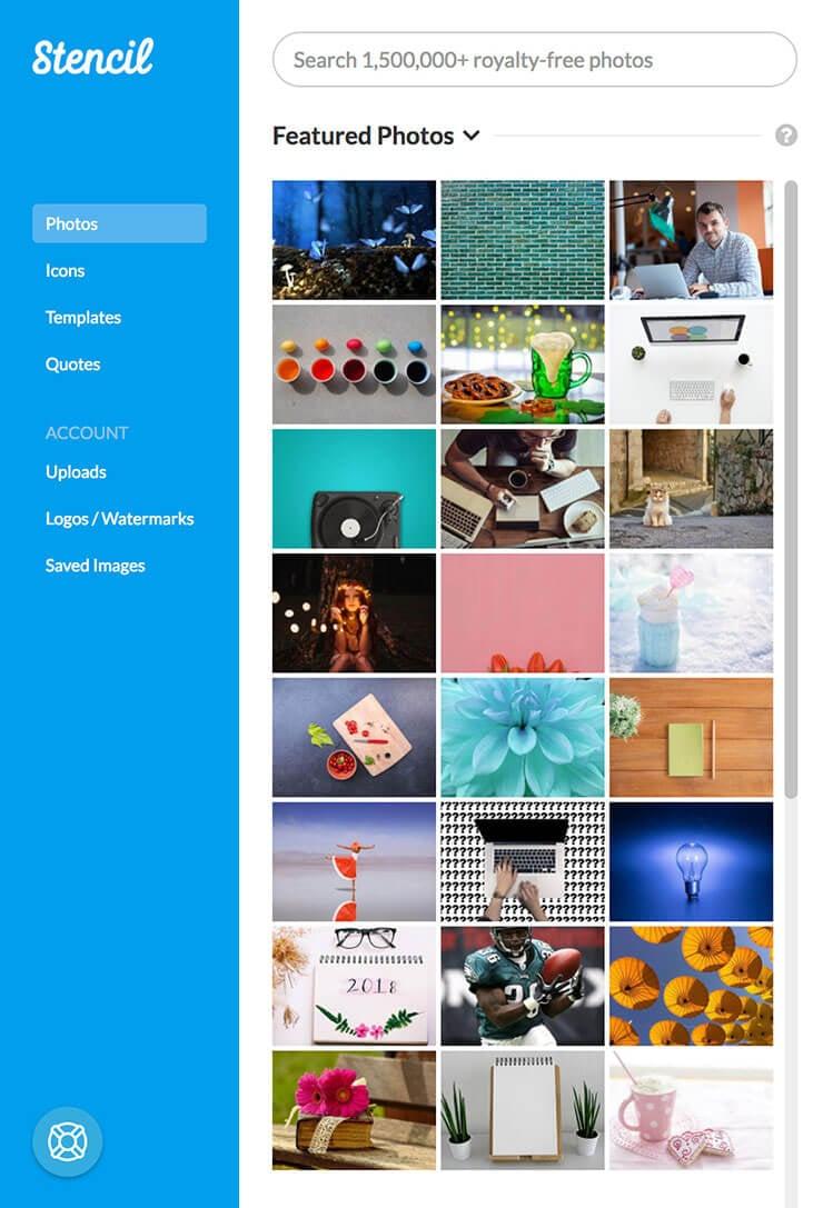 tools for content creators - stencil