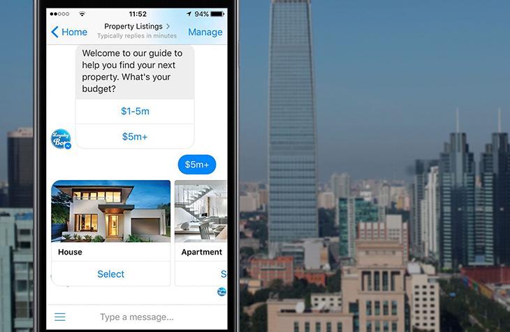 chatbot for real estate