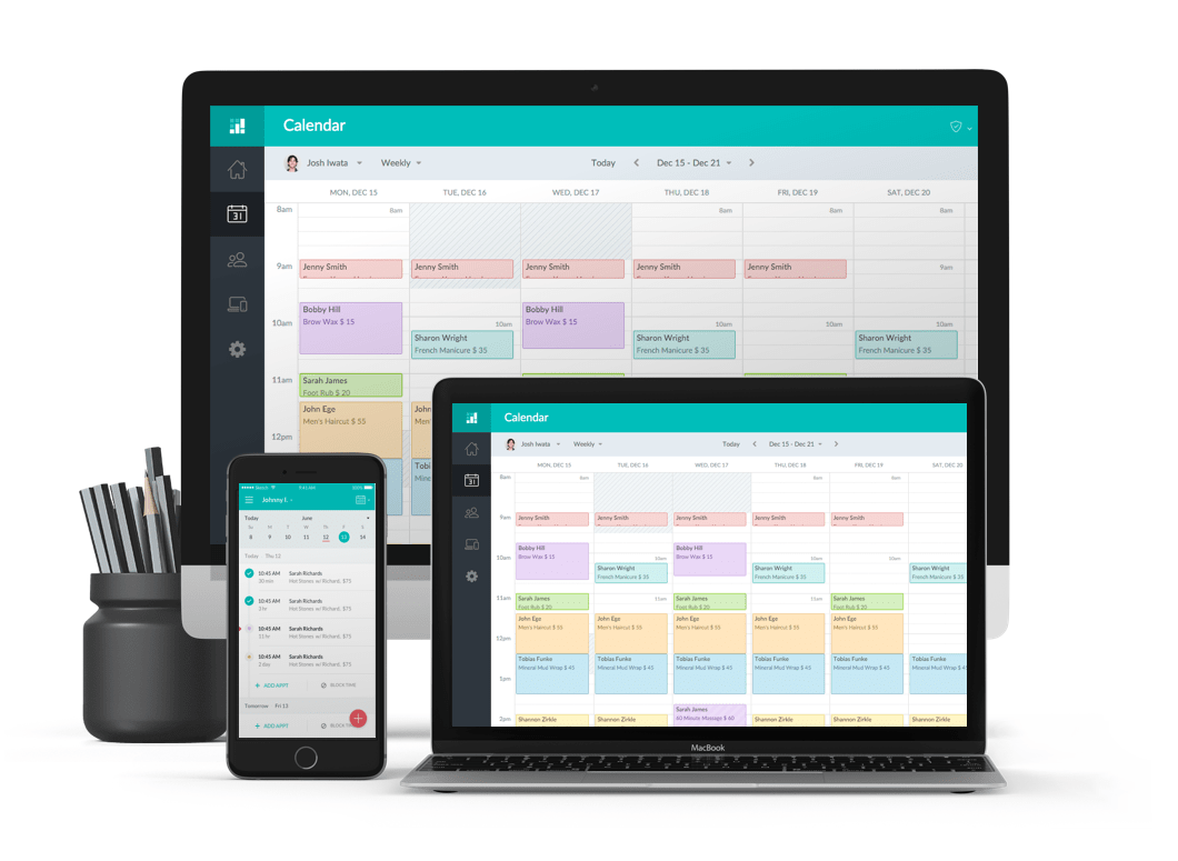tools for appointment management - setmore