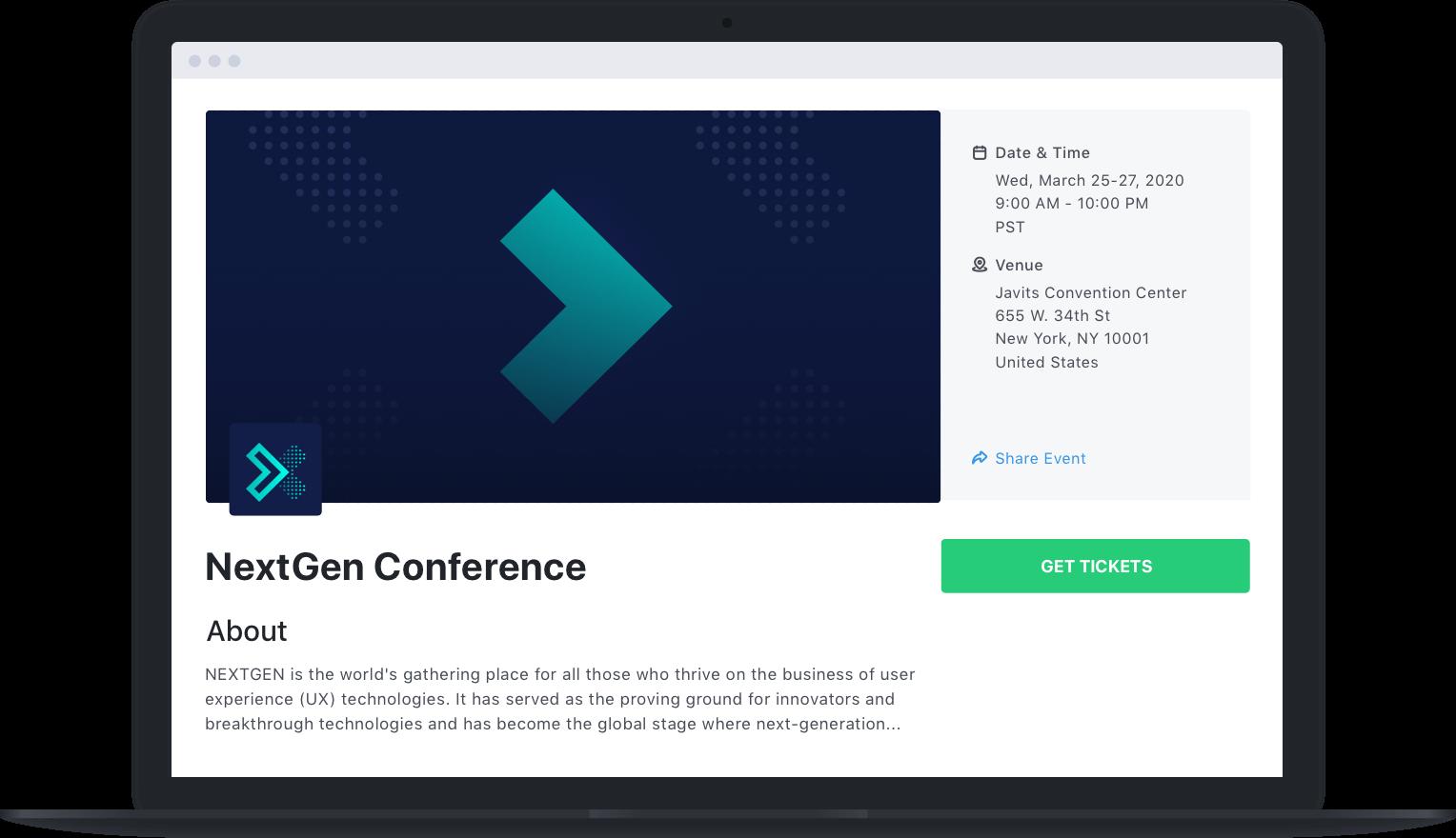 eventbrite alternative - attendify