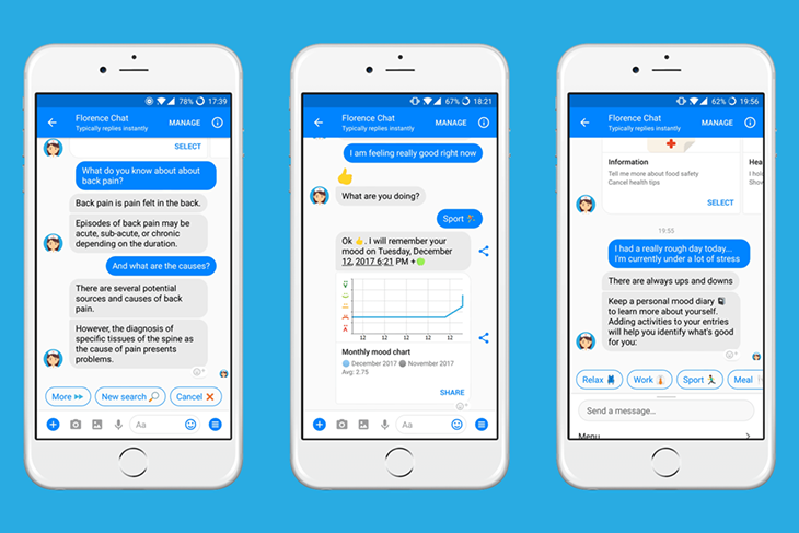 chatbot for healthcare services