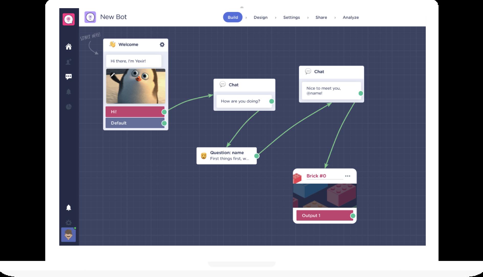 chatbot website platforms - landbot