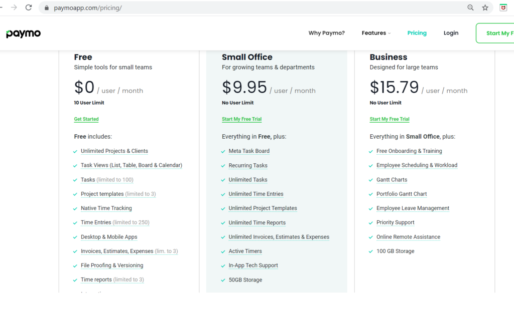 Paymo Review- Dead Simple Project Management Software for Small Business 2