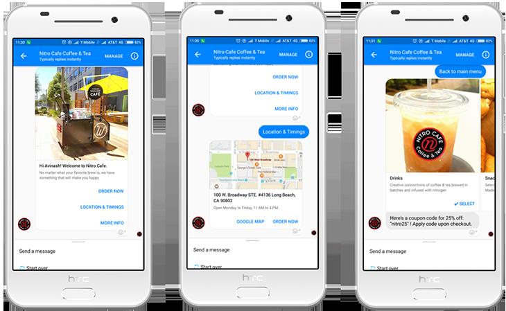 chatbot for Restaurants