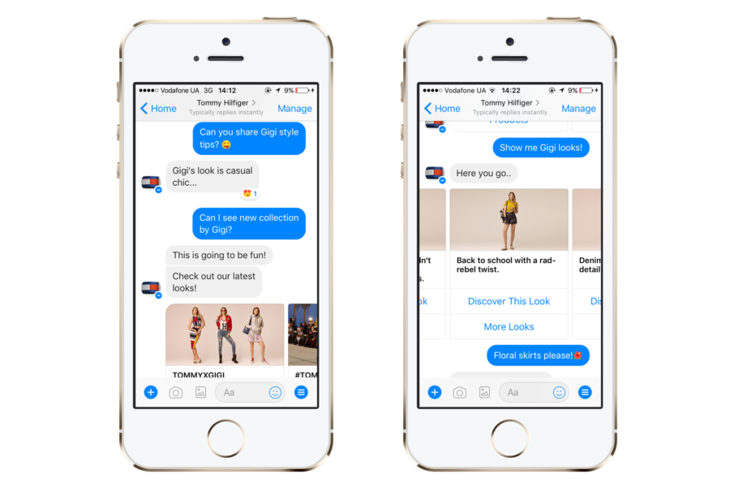Chatbot for retail stores