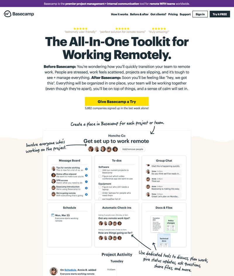 tools for content creators - swipefiles