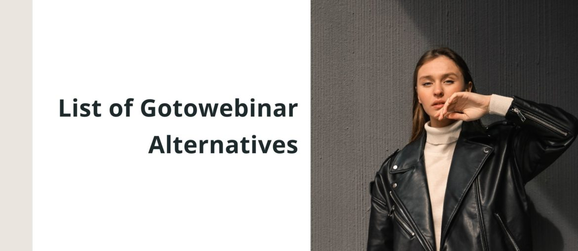 The Only GoToWebinar Alternative that is Quick to Ready 6