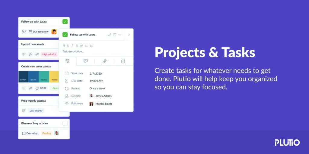 Plutio project management tool