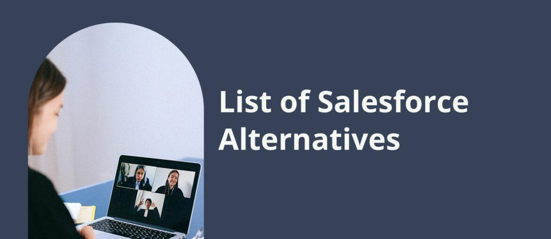 salesforce alternatives