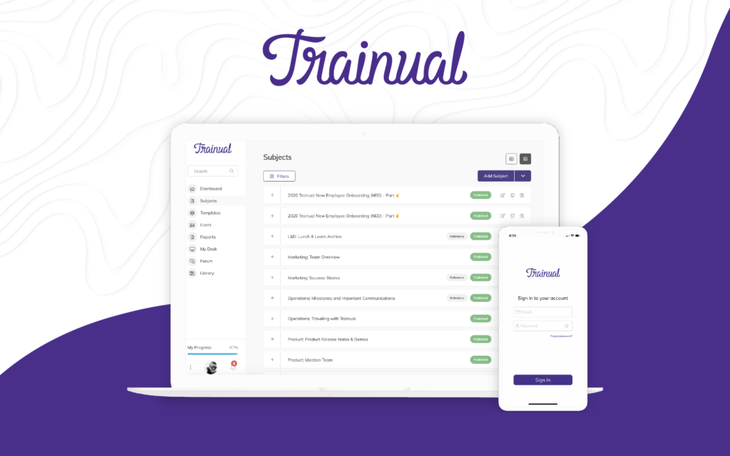 trainual software for project management