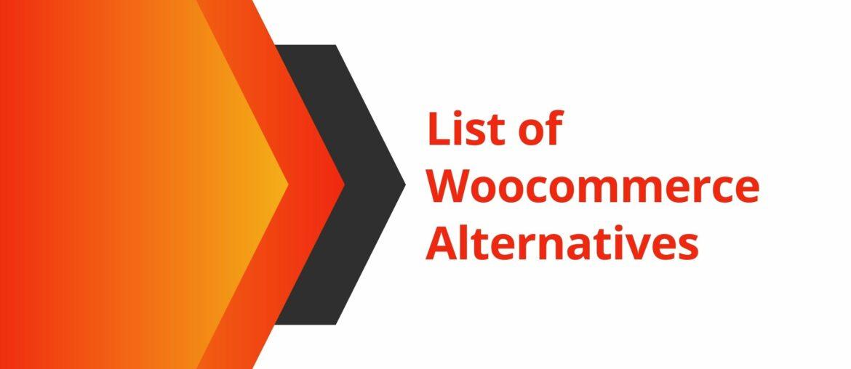 woocommerce alternatives