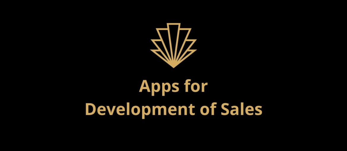 Apps for Development of Sales
