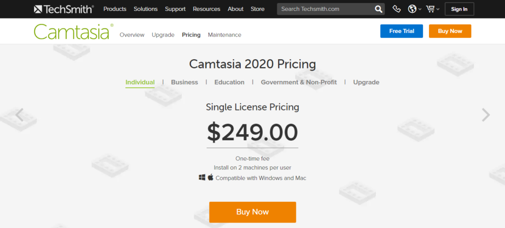 amtasia pricing