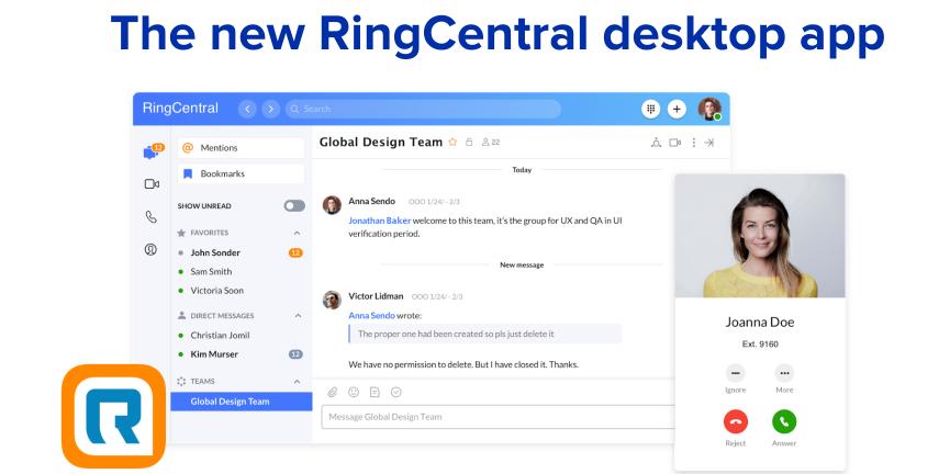 RingCentral app