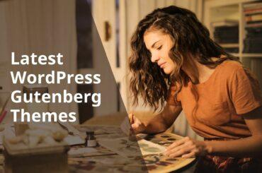 10 WordPress Gutenberg Themes with Gutenberg blocks 1