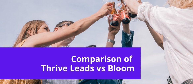 Thrive Leads Vs Bloom - WordPress Opt-in Comparison 7