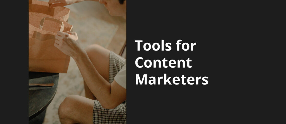 tools for content marketers