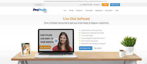 Best live chat software- ProProfs Chat